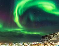 Northen Lights around Vik - Iceland