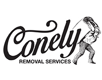 CONELY Removal Services branding