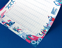 Friedrich Ebert Stiftung in Asia calendar 2018