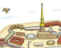St. Peterspurg sites of interest