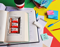 KINDER BUENO MINI trick - World Student Day