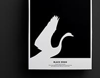 Black Swan - Rebus Poster