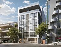 Architectural illustration for Albuquerque project