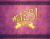 Motes - Frituras dulces de Camote