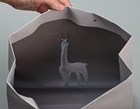 Gray Paper Art