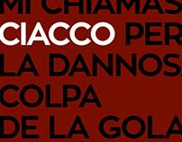 Ciacco & Bacco / menu