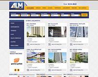 Site ALM - Imobiliária