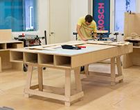 DIY Академия: мебель для мастерской