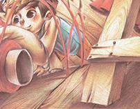 """""""Makinang Makinang"""" Children's Book Illustration"""