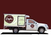 Doyles ice cream branding