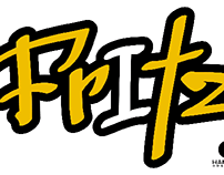 "Logo and character for ""Fritz"""