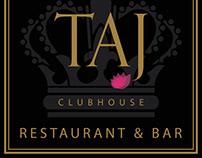 Taj Clubhouse - Branding & Signage