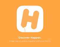 Happen - Let your friends know what you are up to!