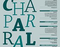 Chaparral Pro: Typeface Specimen