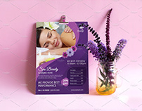 Spa & Beauty Care Flyer