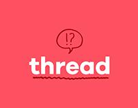 Thread Logo Animation