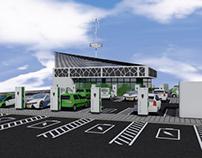 eVcentresUK 15-15 model EV charging centre