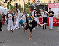 "Capoeira Canigó al Girona en Moviment"""