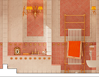 2012. Bathroom VERSACE