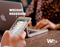 Wechat UI Redesign 2014