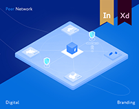 Peer Network - A blockchain VPN. Branding & Website