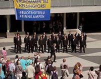 Flash Mob (Ad) // Screaming Men's Choir in Stockholm