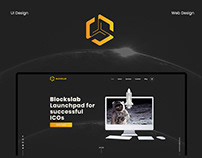 Blockslab - website design and UX/UI design