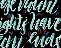 Brashpen calligraphy vol.1 ❧