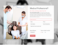 UI & Web design for HealthCare application