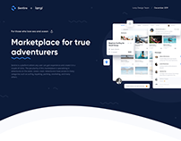 TRAVEL • UI/UX • MARKETPLACE • WEB • DESIGN • SEA •