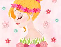 Ilustração Primavera