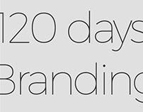 """""""120 days"""" Branding"""