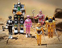 Mighty Morphin Power Rangers Reaction for Super7