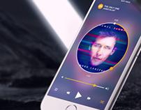 Shufflebase - Music app design