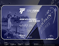NEW BRANDING FOR Toni Forné Professional Racing Driver