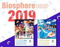 BIOSPHERE / Corporate calendar 2019