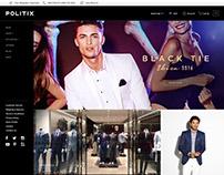 Politix - Website Redo