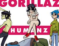 Gorillaz - Humanz Fanart
