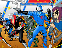 GI JOE 80's TV CARTOON