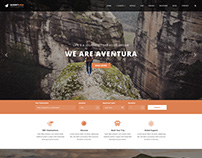 Aventura - Travel & Tour Booking WordPress Theme