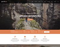 Aventura - Travel & Tour Booking WordPress Theme