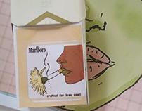 Marlboro Gold Packaging design