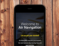 Air Navigation iOS Intuitive UI