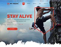 My Medic website redesign
