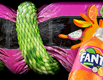 Fanta Drango - Citaro Bus print