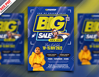 Big Fashion Sale Flyer PSD Template