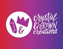Crystal & Crown Creations Branding