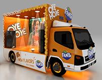 Fanta with Oye Hoye Truck Design