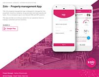 Zolostays- Property Management App