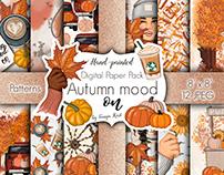 Autumn Mood On Patterns